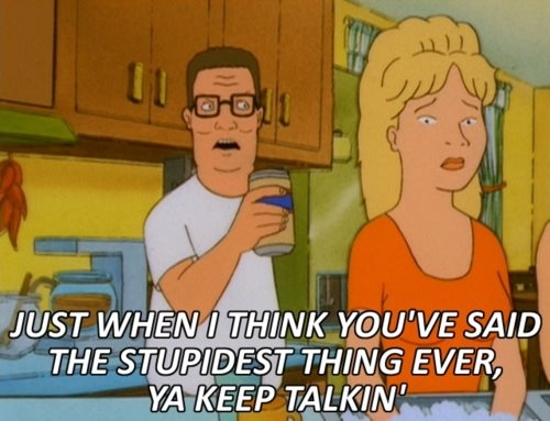 hahahaha we used to watch king of the hill during sunday roast
