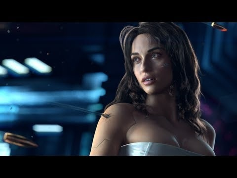 Cyberpunk 2077 Teaser Trailer - Going to preorder the ipermegacollector edition of this motherfucker! <3