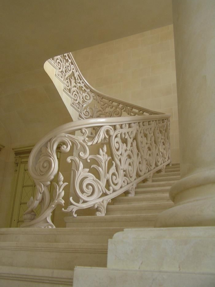 .White railing - Courtesy of Wagner Companies - Railing Products & Services - http://www.wagnercompanies.com/