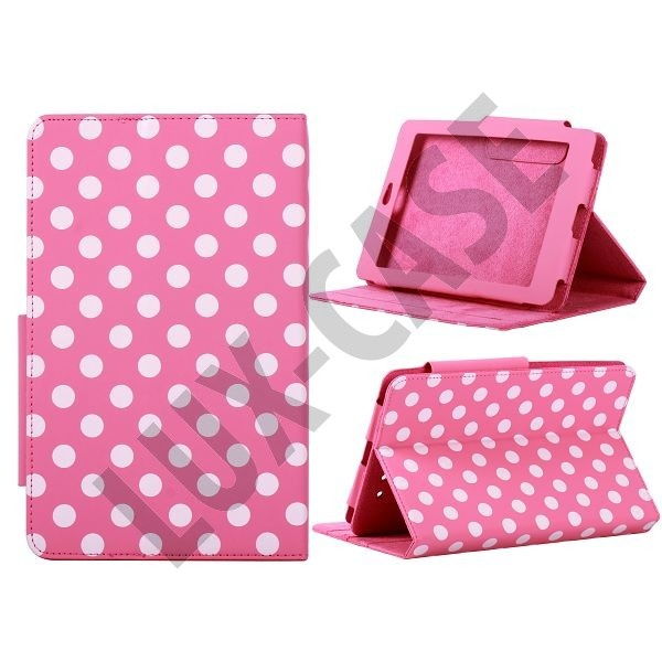 Dots ASUS Google Nexus 7 Leather Case (Pink)