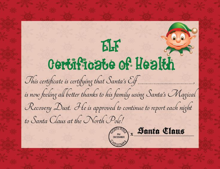 64 best certificates images on Pinterest Certificate, Free - printable christmas certificates