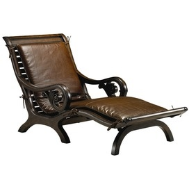 bali leather chaise stanley furniture stately contemporary furniture - Fruitwood Bedroom Furniture
