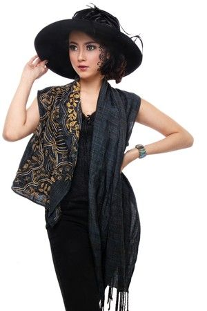 Batik Tambour Two Sided Vest, IDR 799.900