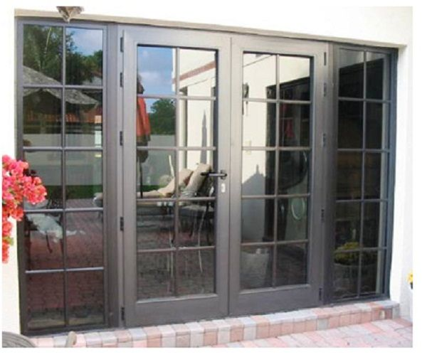 8 best triple patio doors images on pinterest french for Double pane sliding glass door