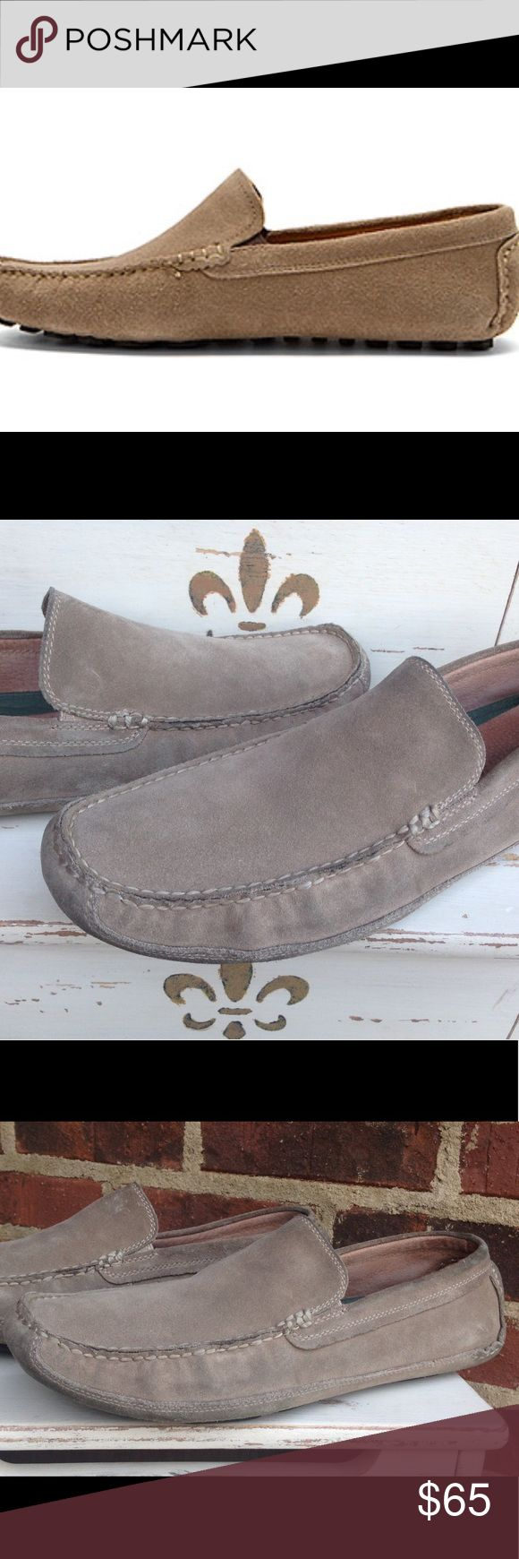 Clarks Clutch Fluid Suede Taupe Slip On Loafer 10 Excellent Used Condition - Gently Used - Size 10 - If you have any questions or concerns please let me know. Thank you for looking at my listing. Have a great day! Clarks Shoes Loafers & Slip-Ons