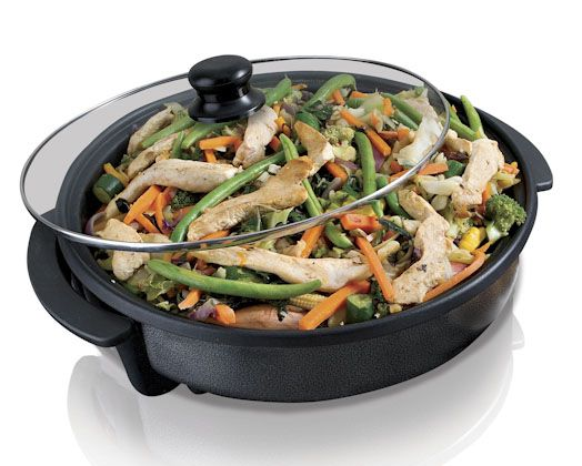 Alonzo Electric Fry and Pizza Pan