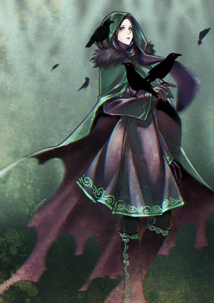 Crowgirl by AinLavendra on DeviantArt