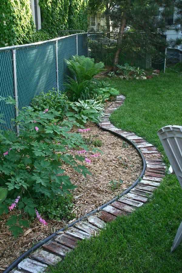 Image Result For Using Recycled Bricks In Garden Garten Garten Landschaftsbau Diy Garten