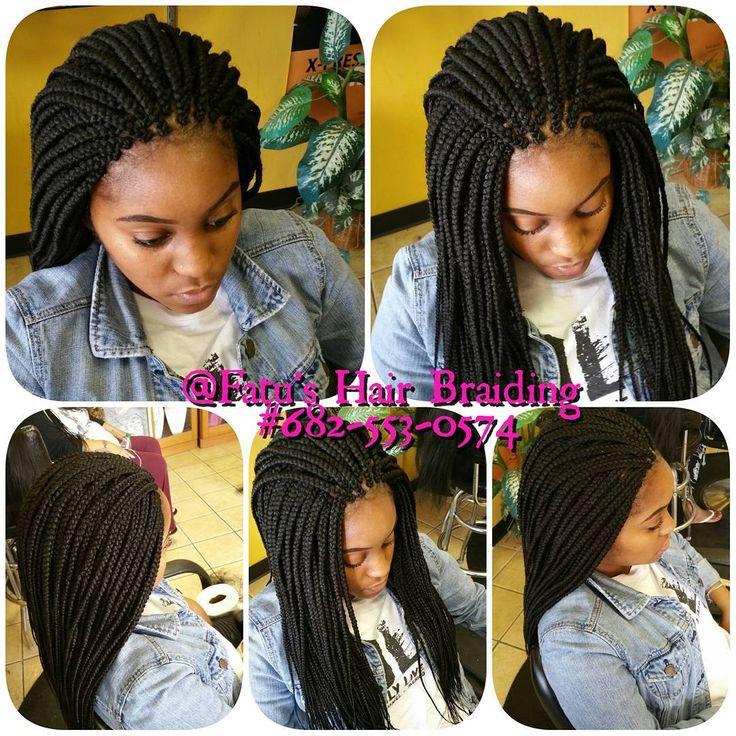 Medium Jumbo Box braids by Fatu…