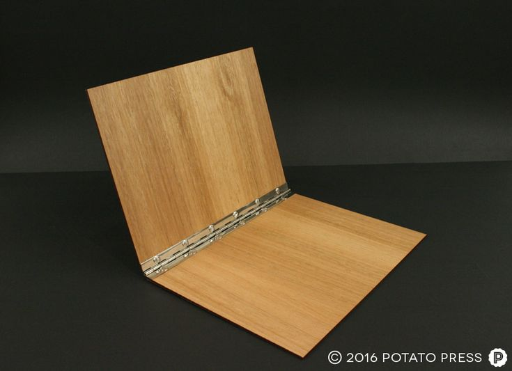 2-заказ лазером-деревянно-Связующее-фальцевально-шарнирной документ-связующее