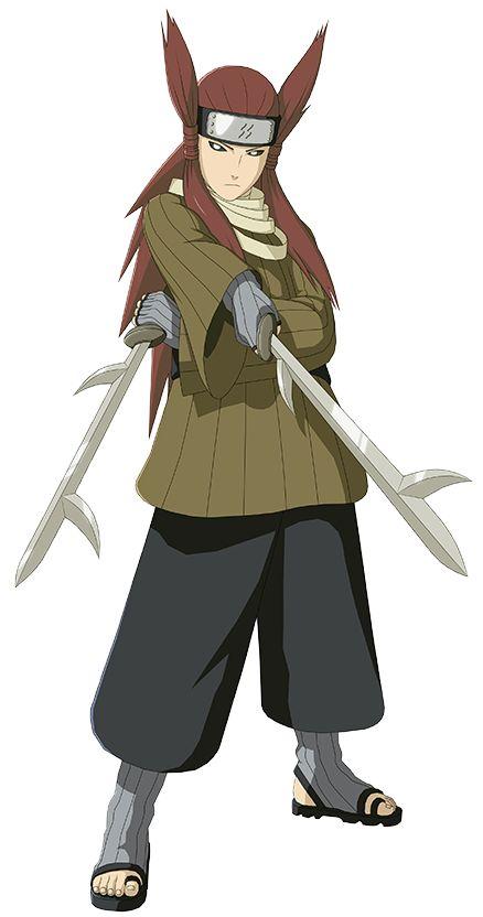 """"""" Da próxima vez vou comer o que gosto primeiro . """" """"'  Fique com isso vou esperar vcê do outro lado . """" Ameyuri Ringo - na batalha contra Omoi e como reconhecimento deu a ele as espadas gêmeas  Kiba (牙; Literally meaning """"Fangs"""") is one of the famous swords of the Seven Swordsmen of the Mist."""