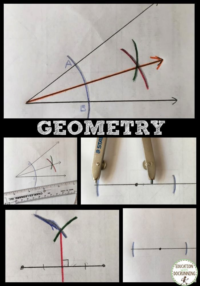 I didn't like geometry as a students, so it took all my creative energy to make it engaging for students.  Color coding geometric constructions has been part of the fun.  This is a great set on angle bisectors and constructing perpendiculars.