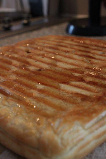 Jamie Olive waffle w/ epic hot chocolate