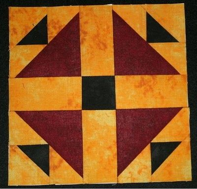 Quilt Patterns On Wisconsin Barns : barn quilt patterns ... : Hen and Chicks - Wisconsin Quilt Blocks on Barns, Block of the Week ...