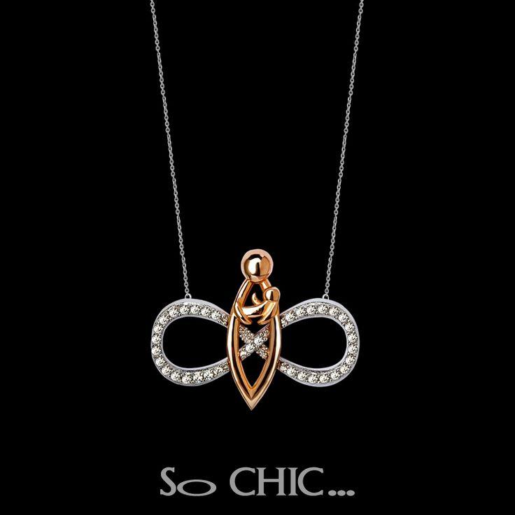#sochic #annelergunu #mothersday #gift #hediye #necklace #sonsuzluk #eternity #gümüş #silver #eternal #mother #anne