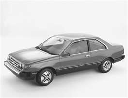This was my very first car.  Standard, two door, black with red interior.  NO AC! ugh