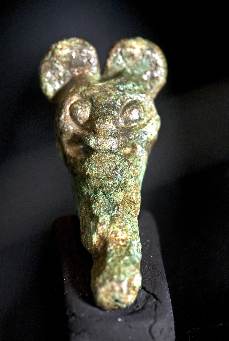 The 10th C Swedish Viking age bronze brooch, used as a clasp to fasten women's clothing, has a striking resemblance to Mickey Mouse!