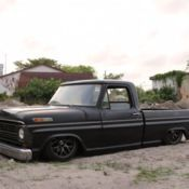 Restomod Ford Hot Rat Street Rod No Air Ride Bagged Patina Shop Truck F100 67 72 for sale: photos, technical specifications, description