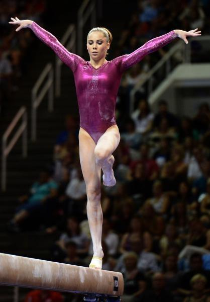McKayla Moroney makes the 2012 USA Gymnastics team