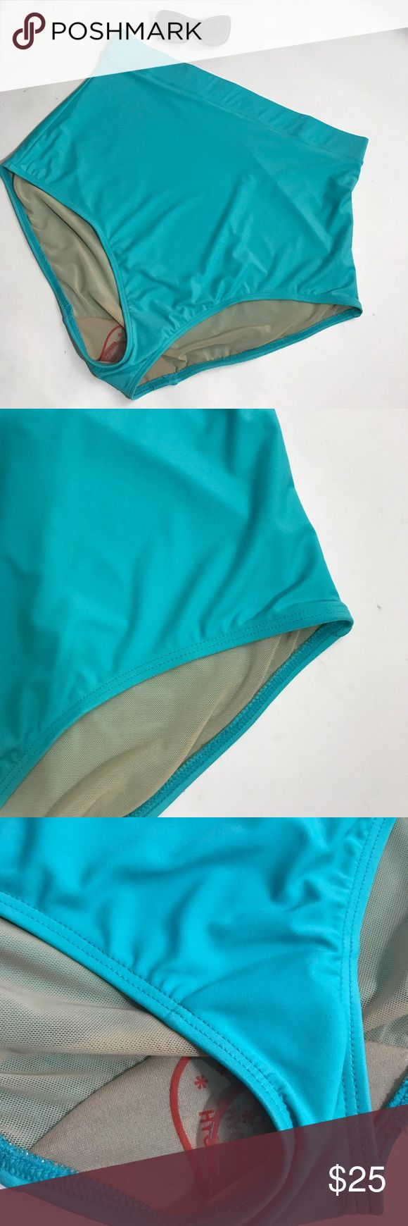 Lane Bryant swim cacique bathing suit bottoms New without tag,tags has been mark out to prevent store return...Various sizes swim bottom teal green high waist and thick waist band lined bathing suit bottom,hygienic liners still in place....see all photos before purchasing.Inventory300A8PE Swim by Cacique Lane Bryant Swim Bikinis