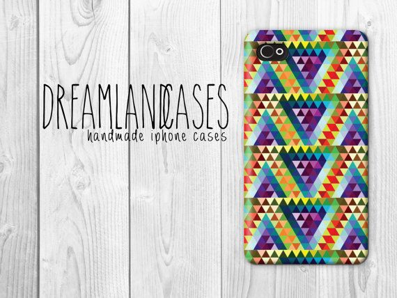 iphone 4, iphone 4s, iphone 5, iphone 5s, iphone 4 case, iphone 4s case, iphone 5 case, iphone 5s case, case, phone case, iphone case, #iphone, #aztec, #tribal, aztec print, tribal print, triangles, triangle by DreamlandCases, $13.00