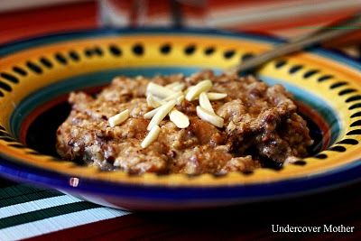 Slow cooker baked apple pie oatmeal that is as tasty as it is healthy ...