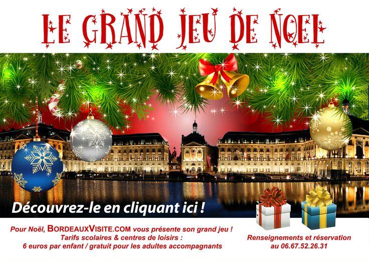 Jeu de Noël à Bordeaux