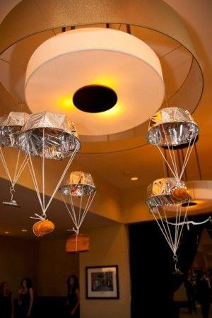 Parachute decorations