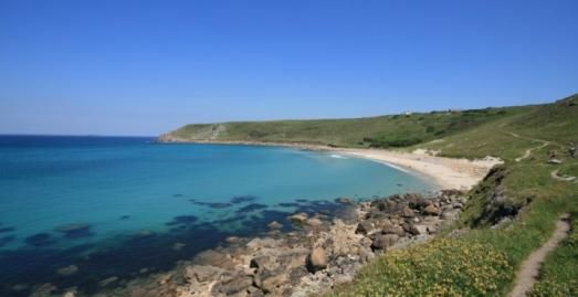 Gwenver Beach, Sennen c James Penman