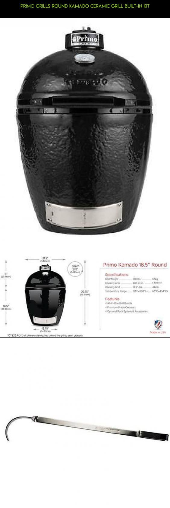 Primo Grills Round Kamado Ceramic Grill Built-In Kit #in #camera #grills #products #shopping #built #drone #parts #kit #fpv #plans #racing #gadgets #technology #tech