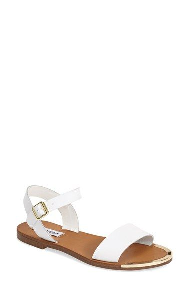 d0b537b1a94 Free shipping and returns on Steve Madden  Rillie  Two Strap Sandal (Women)  at Nordstrom.com. A go-to casual sandal is topped with crisp