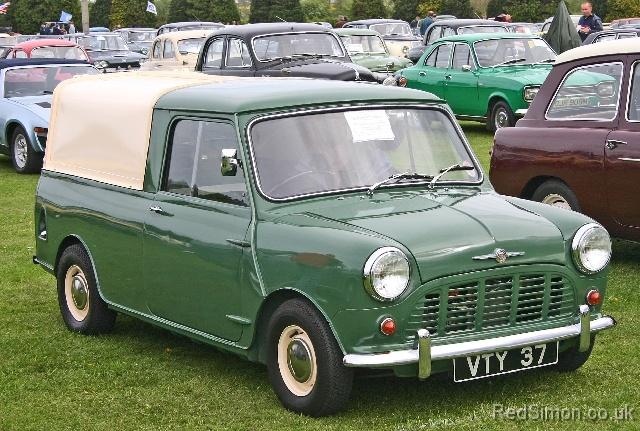 Morris Mini Pickup 1961