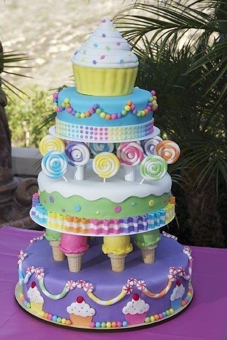 Ultimate Ice Cream Cone Cake
