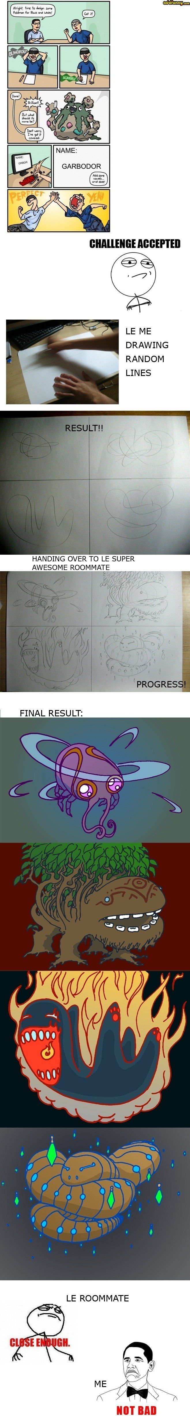 Pokemon challenge accepted Hodgepodge Funny Pictures Add Funny