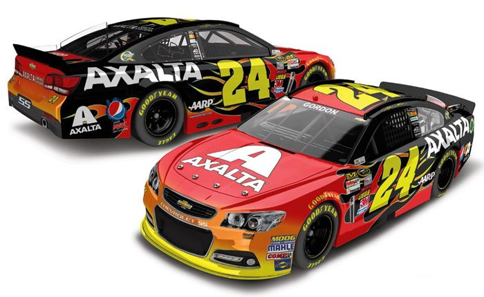 axalta nascar   Jeff Gordon Diecast - Jeff Gordon NASCAR Diecast Cars