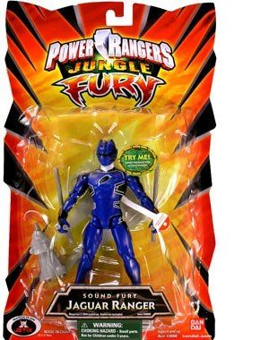 Power Rangers Jungle Sound Fury Jaguar Ranger Blue -- To view further for this item, visit the image link.
