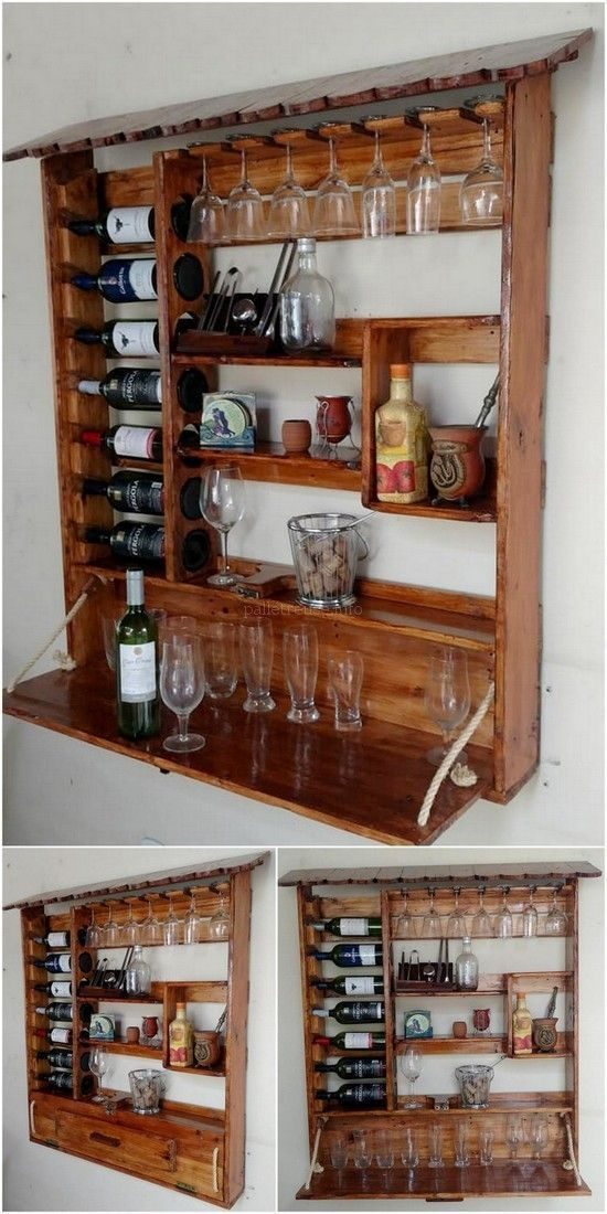 Innovative wooden pallet projects as well as suggestions from the field of