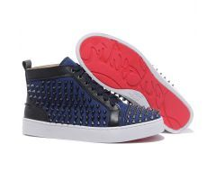 Best Cheap Christian Louboutin Louis Black Spikes High Top Mens Sneakers Denim CODE: Christian Louboutin 2015 List price: $995.00   Price: $178.00 You save: $817.00 (82%) http://www.bestpricechristianlouboutin.com/best-cheap-christian-louboutin-louis-black-spikes-high-top-mens-sneakers-denim.html