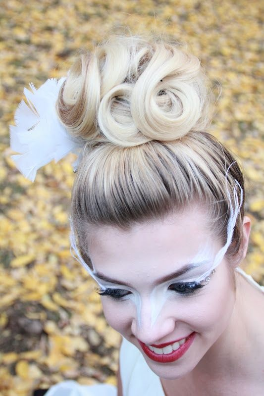 hair & makeup white swan