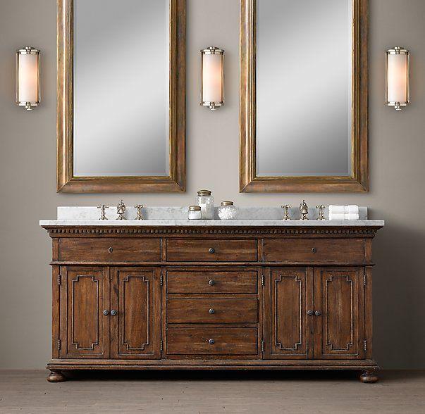 Master Bath 72 Wide St James Double Vanity Sink Devault Road Pinterest Double