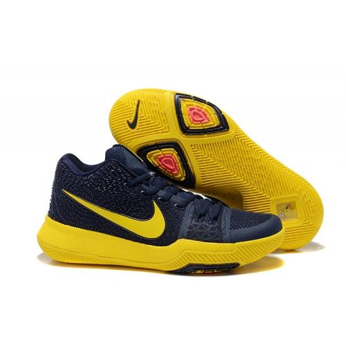 Shop Nike Kyrie 3 EP Mens Basketball Shoe Dark-Blue Varsity-Maize from  zoomkd9sale � Yellow ShoesBlue ...