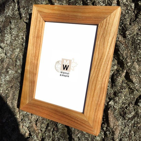 Cherry Frame 5x7 Wood Frames Wedding Photo Frames Wooden
