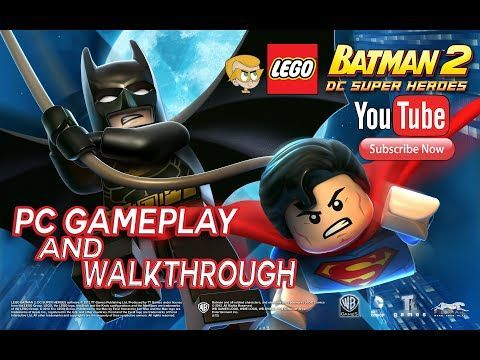 Lego Batman 2 Dc Super Heroes Pc Gameplay Und Komplettlosung Youtube In 2020 Lego Batman 2 Lego Batman Dc Superheroes