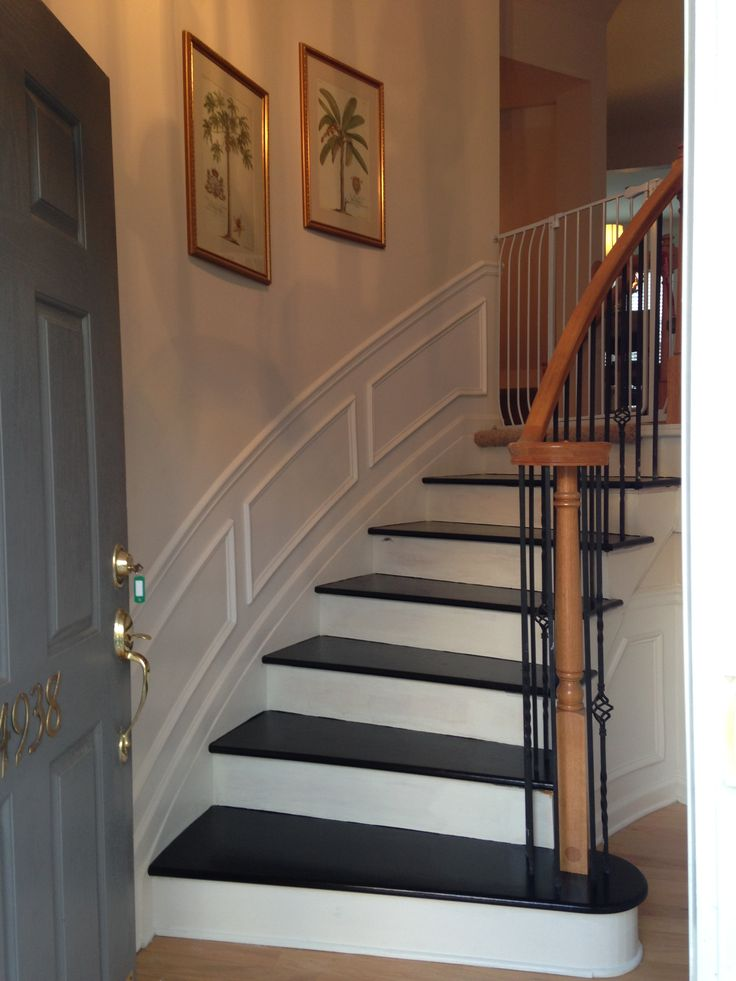 Best 25 Black Painted Stairs Ideas Only On Pinterest