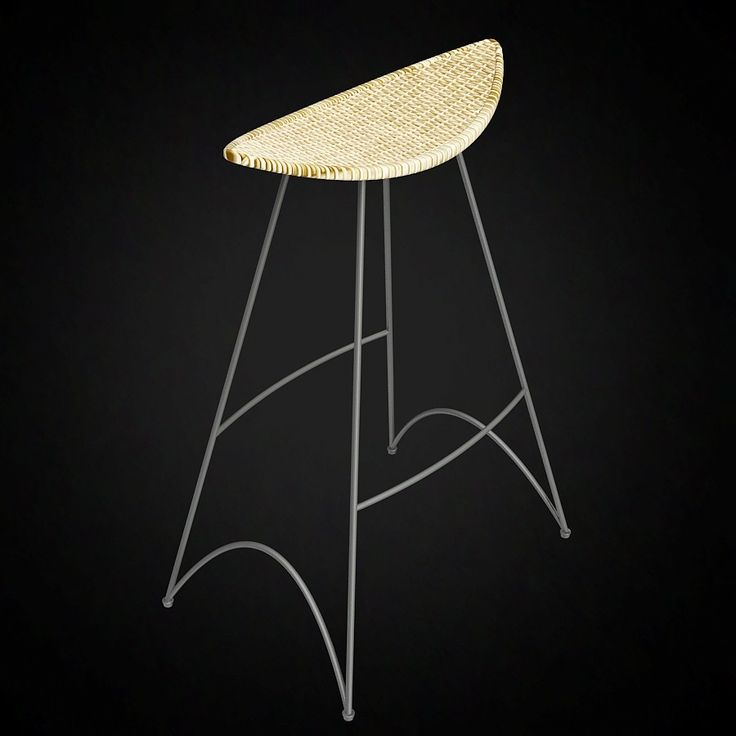 Tom dixon stool for cappellini 3d furniture model use promo code pin3d and get 30 off 9 - Tom dixon knock off ...