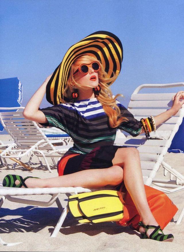 Prada perfect beach attire!