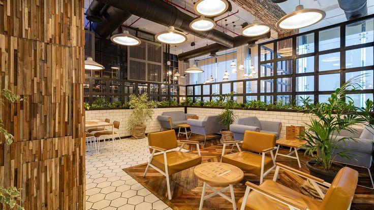 Brew 92 Cafe interior design, Coffee shop interior