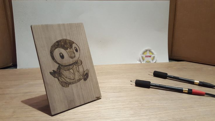 DDW-31: Piplup Wood Burning