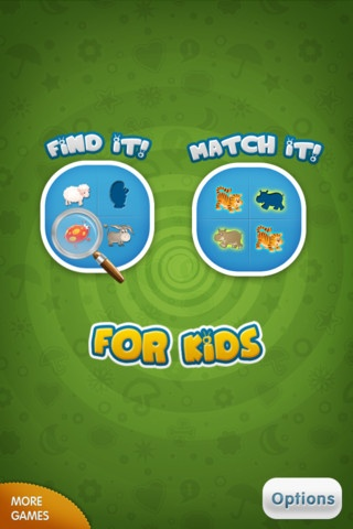 "Find It - Match It for Kids HD ($0.00) Two nice and fun games to sharpen and amuse your mind.  ""Find it"" is a game that will develop the visual skills and sense of observation of your child.  ""Match it""- this game will develop the memory skills of your child."