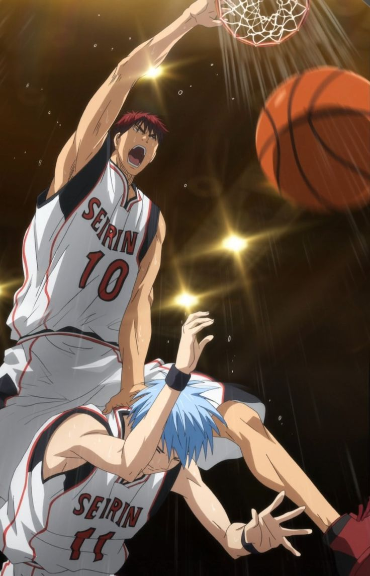 FAVORITE MOMENT FROM Kuroko no Basuke/Basket serious perfection their teamwork is almost flawless